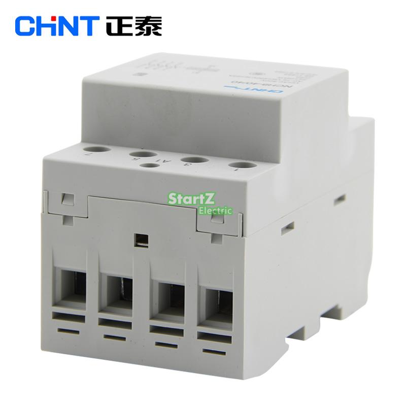 Image 3 - CHNT  NCH8 63/40   63A 400V  4NO   Din rail Household AC Contactor-in Contactors from Home Improvement