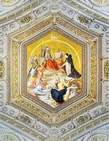 High Quality Hot Sale Custom 3d Ceiling Wallpaper Mural The Queen S Sacred Code European Painting