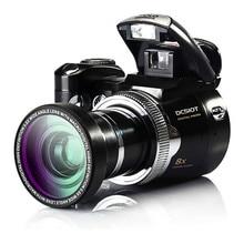 10Pcs/Lot DHL Free Ship 16Mp Digital Camera Protax/Polo DC510T SLR Shape Camera 5MP CMOS 8X Zoom Camera HD 720P Video Li-Battery