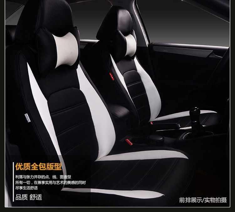 รถยนต์ชุดเบาะรถที่นั่งสีแดงสำหรับ MITSUBISHI Lancer EX V3/5/6 Pajero Sport Outlander V73 v77 Grandis EVO IX DX 7 CC