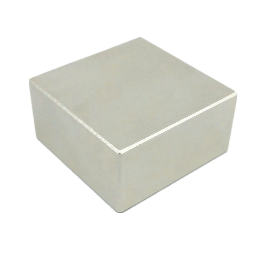 N52 Strong Magnet Block 50x50x25 49x49x24 46x46x22mm NdFeB Water Meter Filter Powerful Neodymium Holding Lifting Magnetics