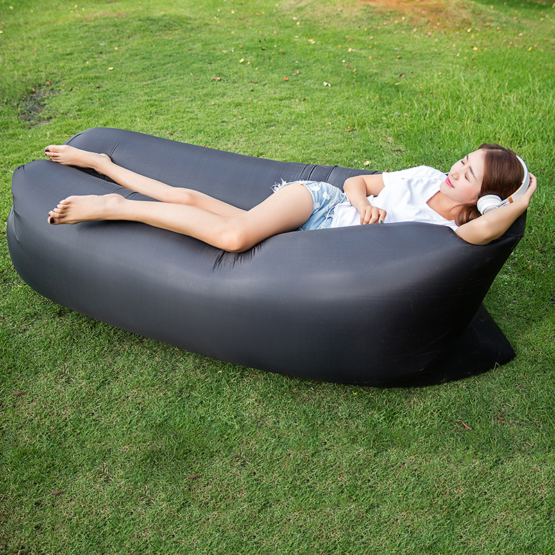 In Stock! Lazybag Beach Accessories Fast Shipping Inflatable Air Sofa Lazy <font><b>Bag</b></font> Lounger Camping