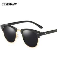 JEMSDAW latest European and American fashion polarized sunglasses brand design male woman driving sunglassesUV400