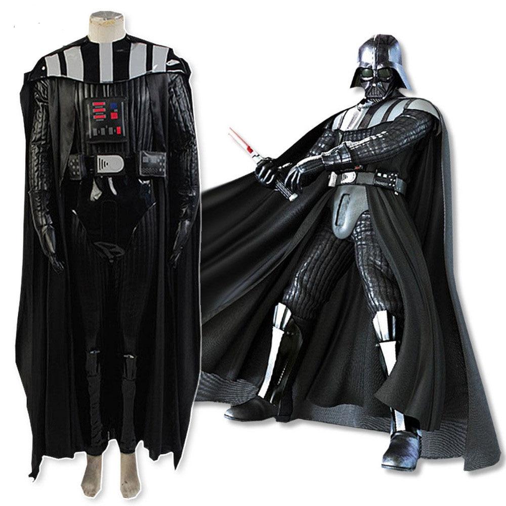 Adult Star Wars Darth Vader Costume Women Halloween Party Coplay Fancy Dress
