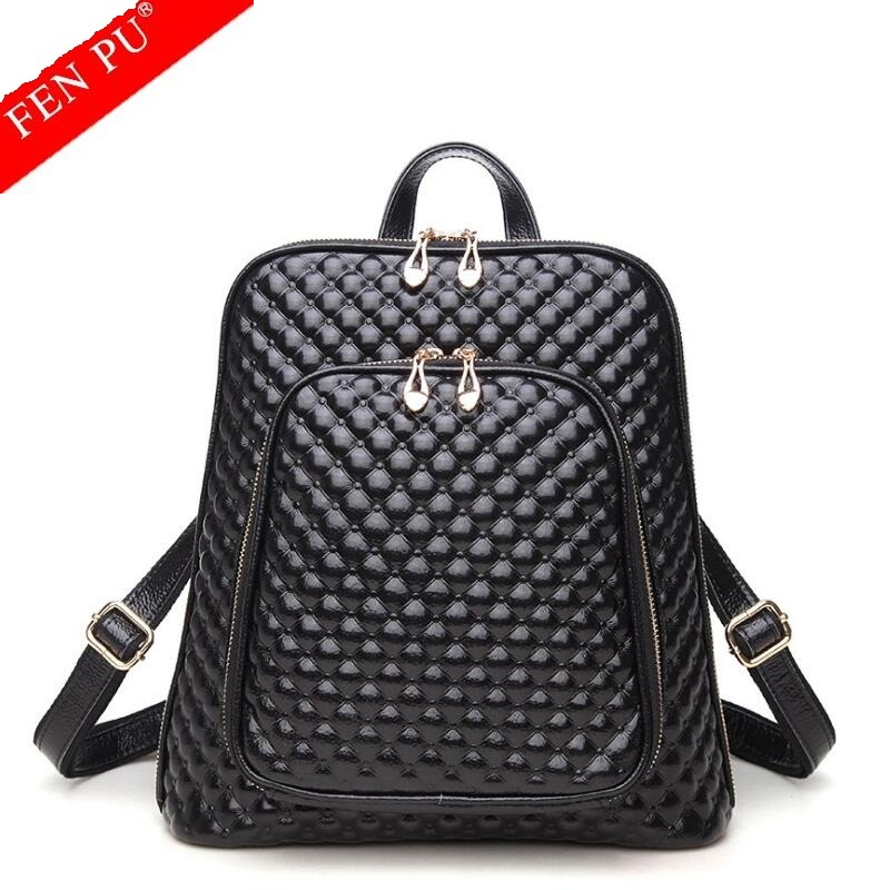 2018 Summer New Arrival Women Backpack 100% Genuine Leather Ladies Travel Bags Preppy Style Schoolbags For Girls High Quality 2017 new arrival leather backpack casual bags