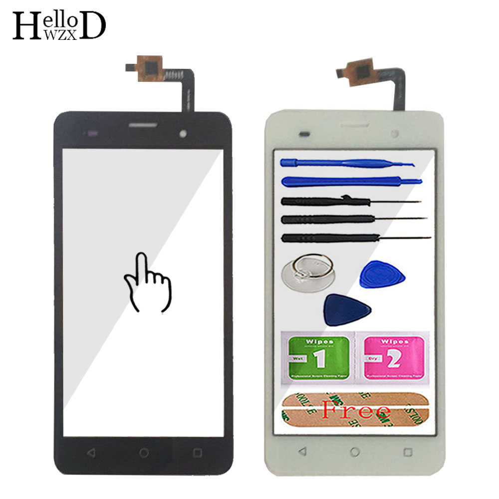 5.0'' Touch Screen Glass For Wiko Jerry Touch Glass Touch Screen Glass Digitizer Panel Touchscreen Front Glass Tools Lens Sensor