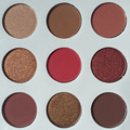 9 Colors/Set NEW make up kyli palette eye shadow The Bronze and Burgundy Palette Cosmetics Matte Eyeshadow Eye Shadow Palette