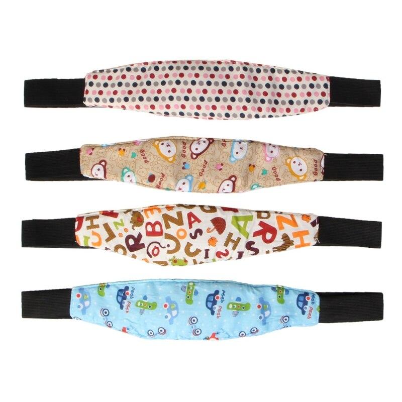 1 Pcs Fixing Band Bracket Kid Head Support Baby Sleeping Belt Car Seat Sleeping Snooze Belt Holder Holder Baby Seat Belt Safety