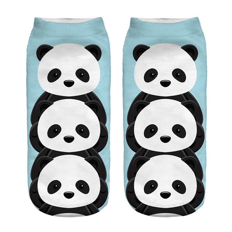 2017 nueva llegada lindo Panda azul cielo poliéster dibujos animados ...