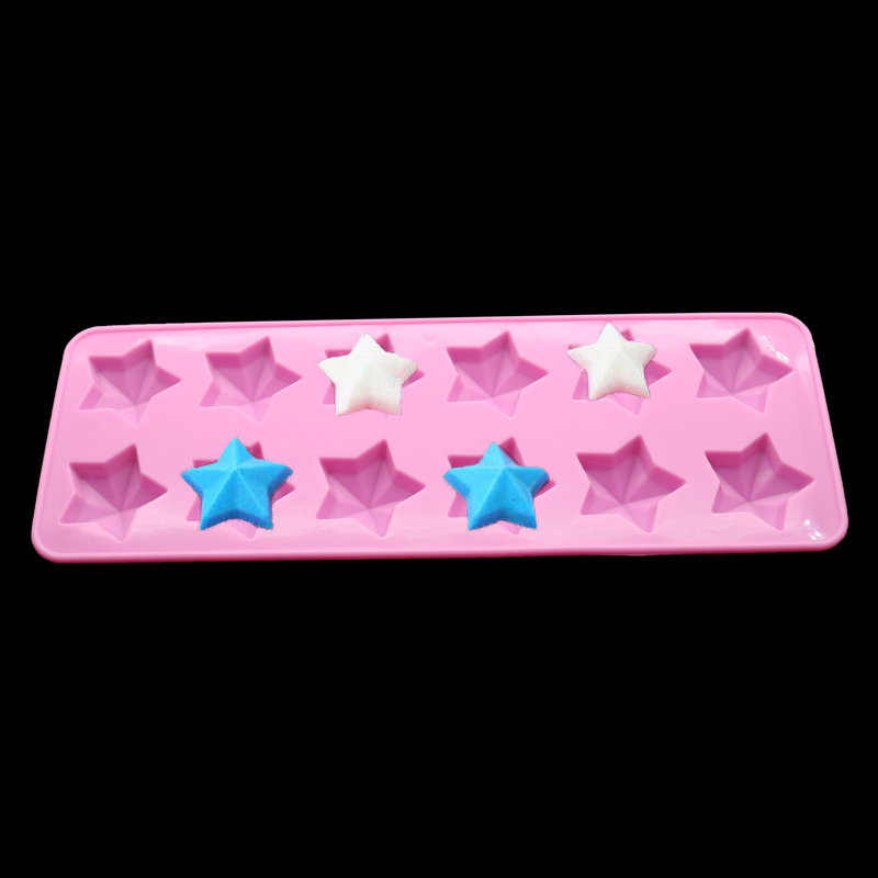 Pentagram Silicone Mold Chocolate Pudding Jelly Biscuit s