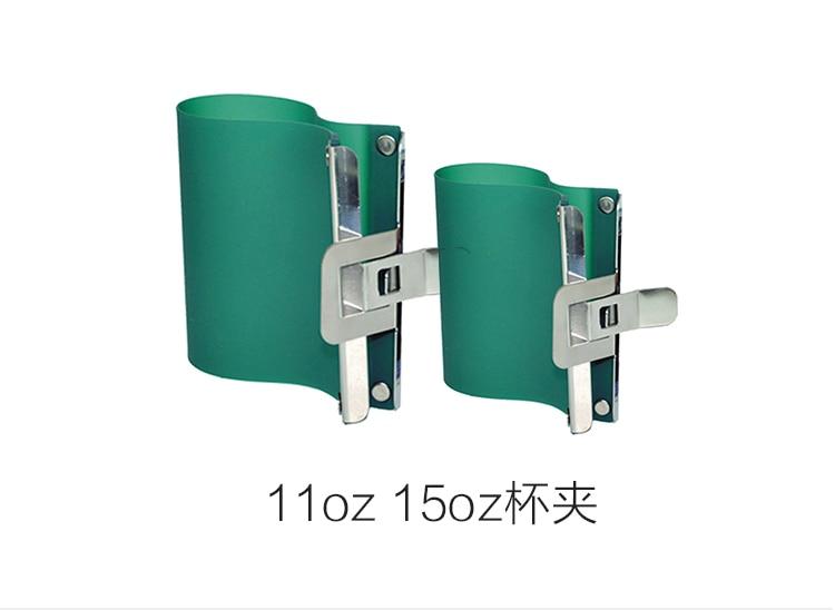 1Pc 3D Sublimation Latte Mug Rubber Clamp 3 Size 11oz 12OZ 15OZ Silicone Fixture Print Mug Wrap For 3D Sublimation Machine