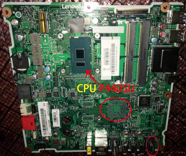 Fpr Lenovo AIO-300-22ISU (E285E6090EE) CPU: P4405U, UMA, HDMI IN, GANHAR DPK FRU 01GJ099 00UW095 01GJ098 01GJ091 01GJ090