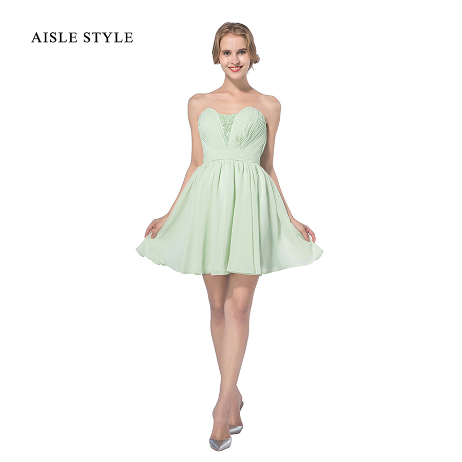 Aisle style short bridesmaid dresses sage green strapless aisle style short bridesmaid dresses sage green strapless sweetheart sequin lovely junior bridesmaid dress short for country in bridesmaid dresses from ombrellifo Choice Image