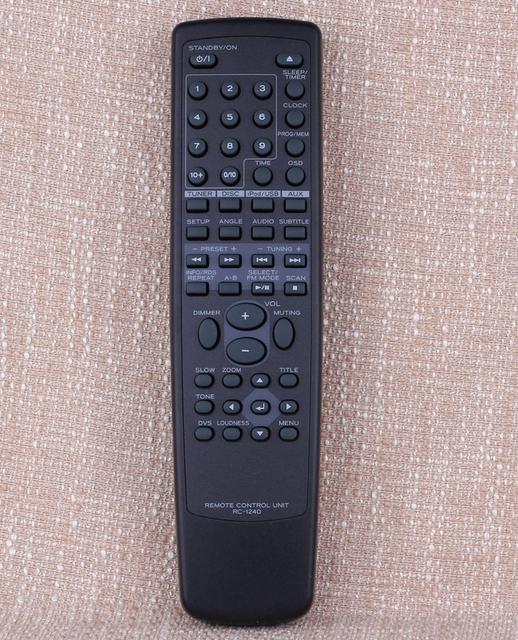 New Original remote control Controller Suitable RC 1240 for TEAC Audio system player DR H338i