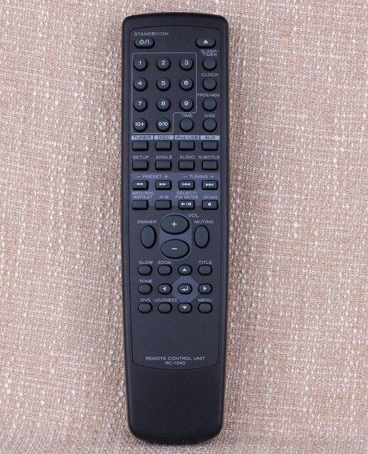 Nuovo Originale Regolatore di telecomando Adatto RC 1240 per TEAC Audio sistema di lettore DR H338i