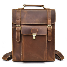 купить YUPINXUAN Europe Luxury Genuine Leather Backpacks for Men Cow Leather School Bags for 14
