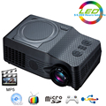 Home Theater  Full HD native 1080P Video Portable proyector EC-539A projector With DVD,FM,RMVB(MP5),TV,GAME,USB,TF Card,AV IN