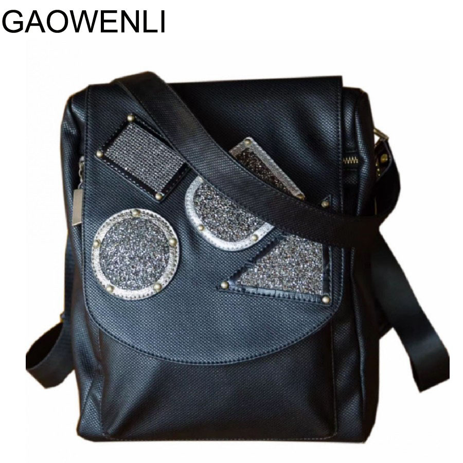 GAOWENLI Fashion Diamond and Leather Soft Women Handbag Zipper Ladies Large Shoulder Bag Female Brand Designer Casual Tote Bag мешочек для магнезии black diamond black diamond ultralight chalk bag белый medium large