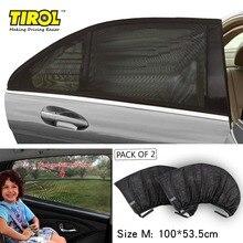 TIROLP3 New Mesh UV Protection Car Window Rear Door\Side Sun Shades Outdoor Travel Baby 2PC Size M:100X53.3cm Free Shipping