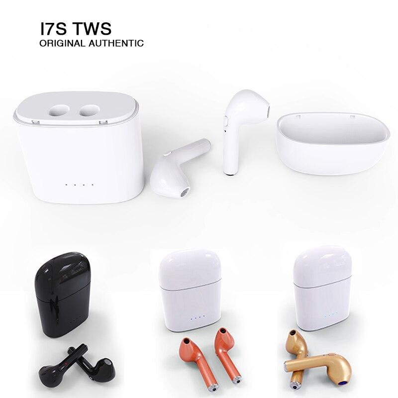 Hbp I7S TWS Bluetooth Sans Fil Écouteurs Écouteurs Vrai Sans Fil Écouteurs Auriculares Pour iphone 6 7 xiaomi samsung Mini Ecouteur