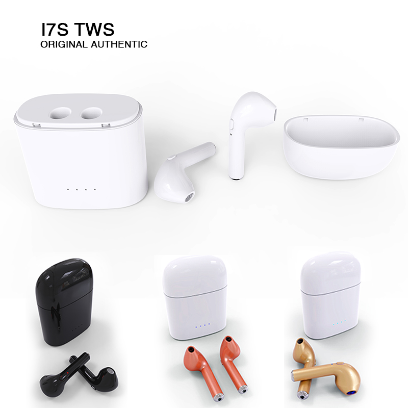 Hbp I7S TWS Bluetooth Wireless Earphone Earphones True Wireless Earbuds Auriculares For iphone 6 7 xiaomi samsung Mini Ecouteur tws wireless earphones bluetooth earphone pair in ear music earbuds set for apple iphone 6 7 samsung xiaomi sony head phone md1