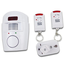 Remote Control Wireless Infrared Alarm Device Anti-theft Home Security System