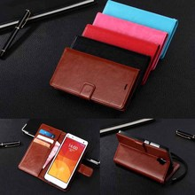 For Xiaomi Mi 4 High quality Vintage PU Leather Wallet Case