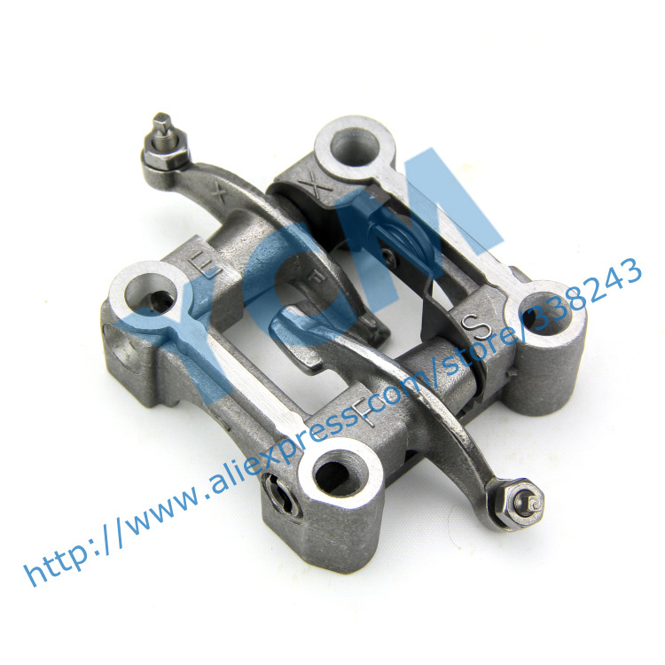 US $13 9 |Rocker Arm Bracket Assembly GY6 125 150CC Rockshaft Bracket  Assembly 152QMI 157QMJ Scooter Engine Parts Drop Shipping-in Engines from