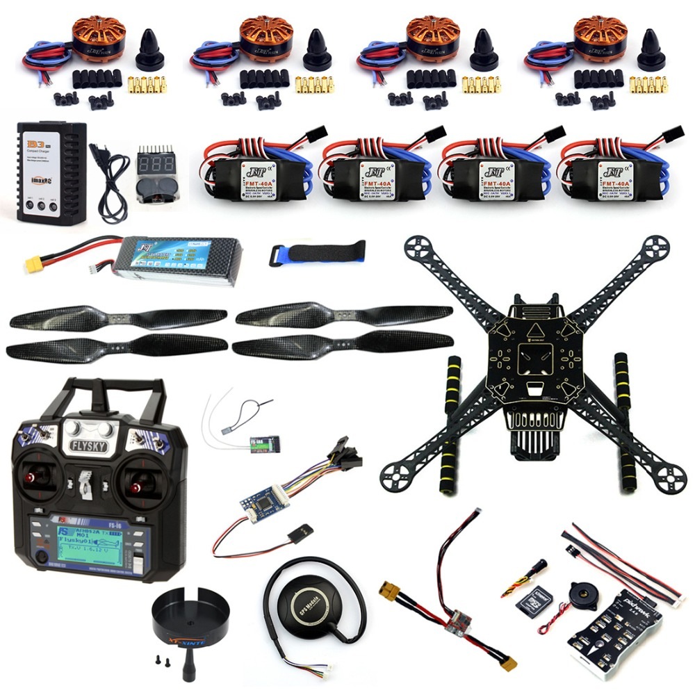 DIY RC font b Drone b font Full Kit 4 Axle S600 Frame PIX 2 4