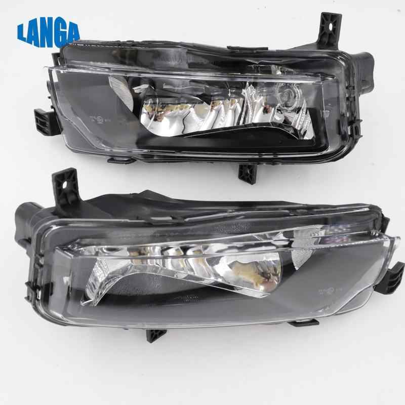 Lámpara de parachoques frontal para Volkswagen Caddy 2015 luz antiniebla 2K5941662 2K5941661 HIGHLINE CHROME antiniebla SET