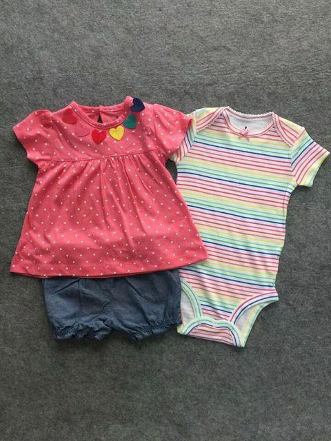 3 Pieces Cotton Clothing...