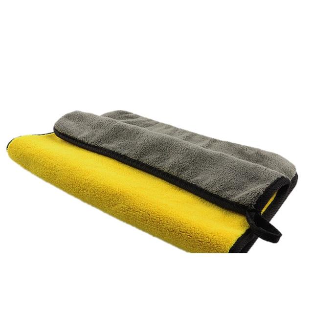 Mling 30x3 0/60CM Car Wash Asciugamano In Microfibra Per La Pulizia Auto di Secchezza del Panno Orlare Cura Dell'auto Panno Detailing Lavaggio Auto asciugamano Per La Toyota 4