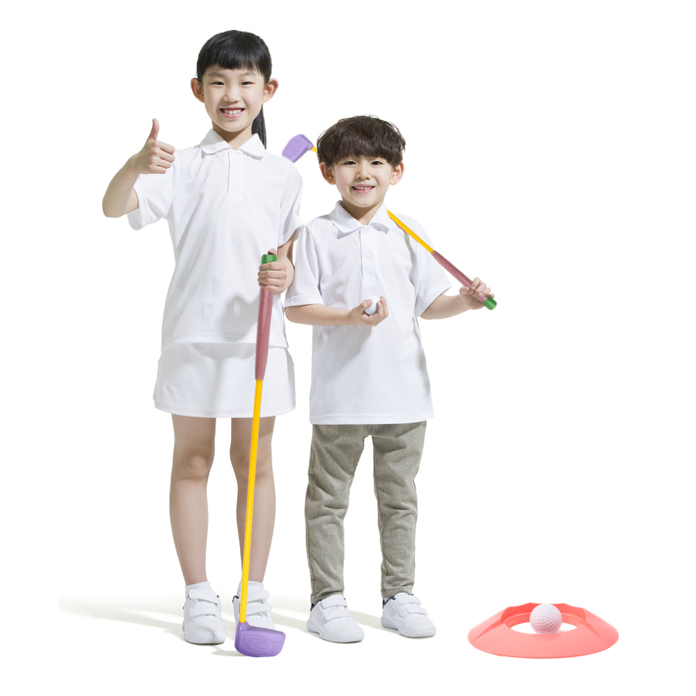 Golf Toy Set Sports Toys Colourful Developmental Perfect Outdoor Play Golfer For Children