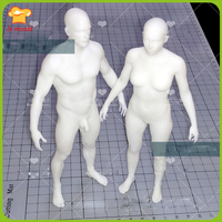 2016 LXYY MOULD Exclusive Men And Women Body Mold Human Clay Mold Silicone Mold Ruantao