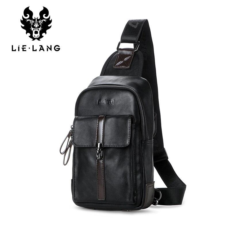 LIELANG Men's Bag Handbags Chest-Bag Diagonal-Bag Shoulder Multifunctional Casual Fashion