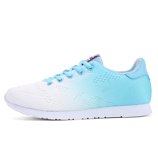 official photos 6d08a 17723 2018 Summer New Style Mesh Breathable Running Shoes for Woman Ladies Sport  Walking Shoes Teenage Girls Sneakers Lace Up Flats