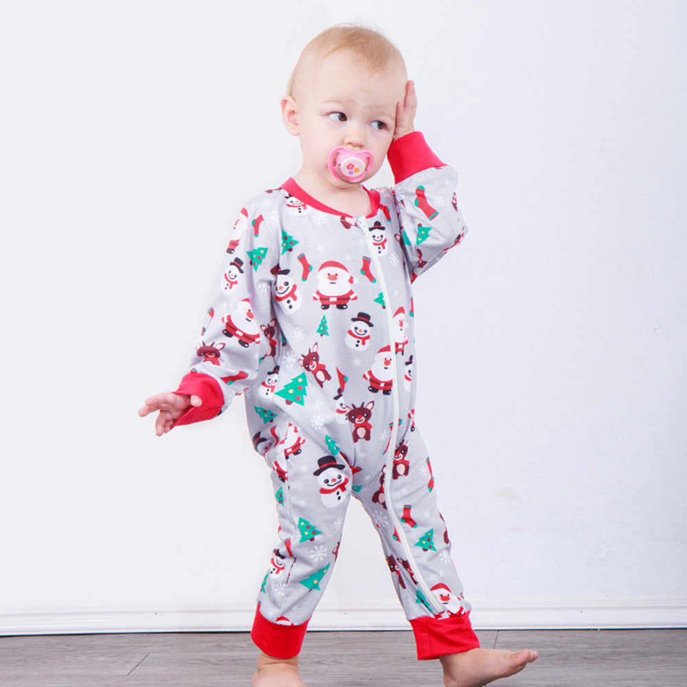 8f4ec3df8ed Detail Feedback Questions about 2018 new year cute Infant Baby Boys Girls  christmas clothes Long Sleeve Santa Print girls rompers jumpsuit Outfit on  ...