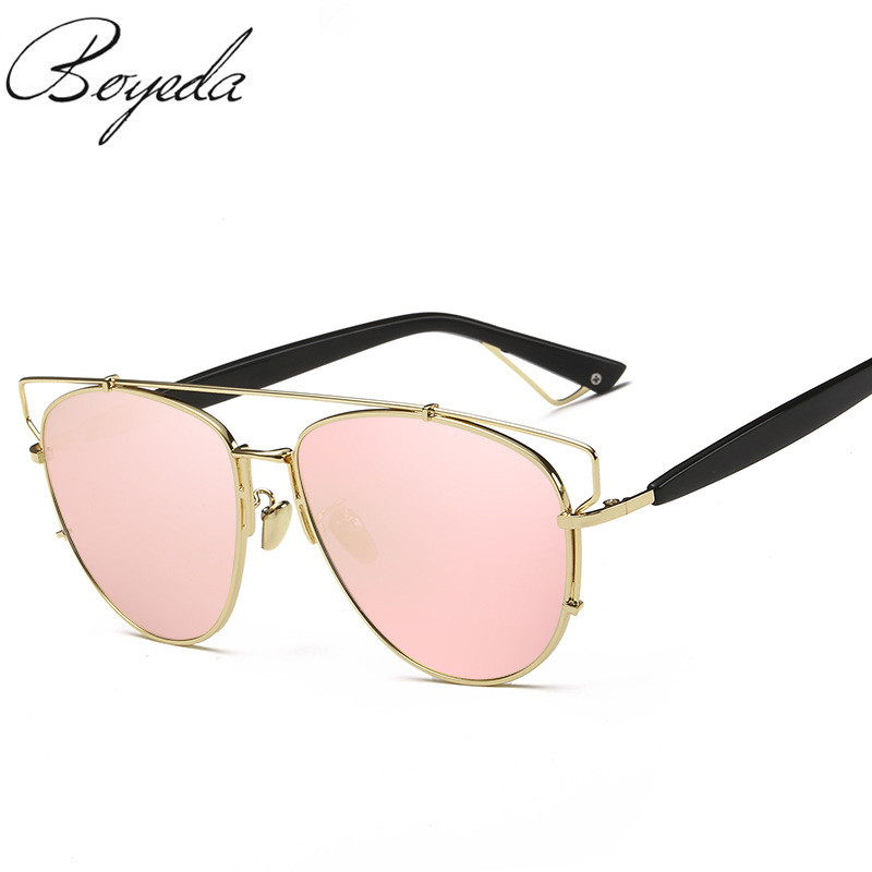 Newest Brand Fashion Polarized Sunglasses Women Mirror Coating Butterfly Alloy Frame Specialties Polaroid Lens Sun Glasses UV400 uv400 polarized mirror orange lens wood frame sunglasses