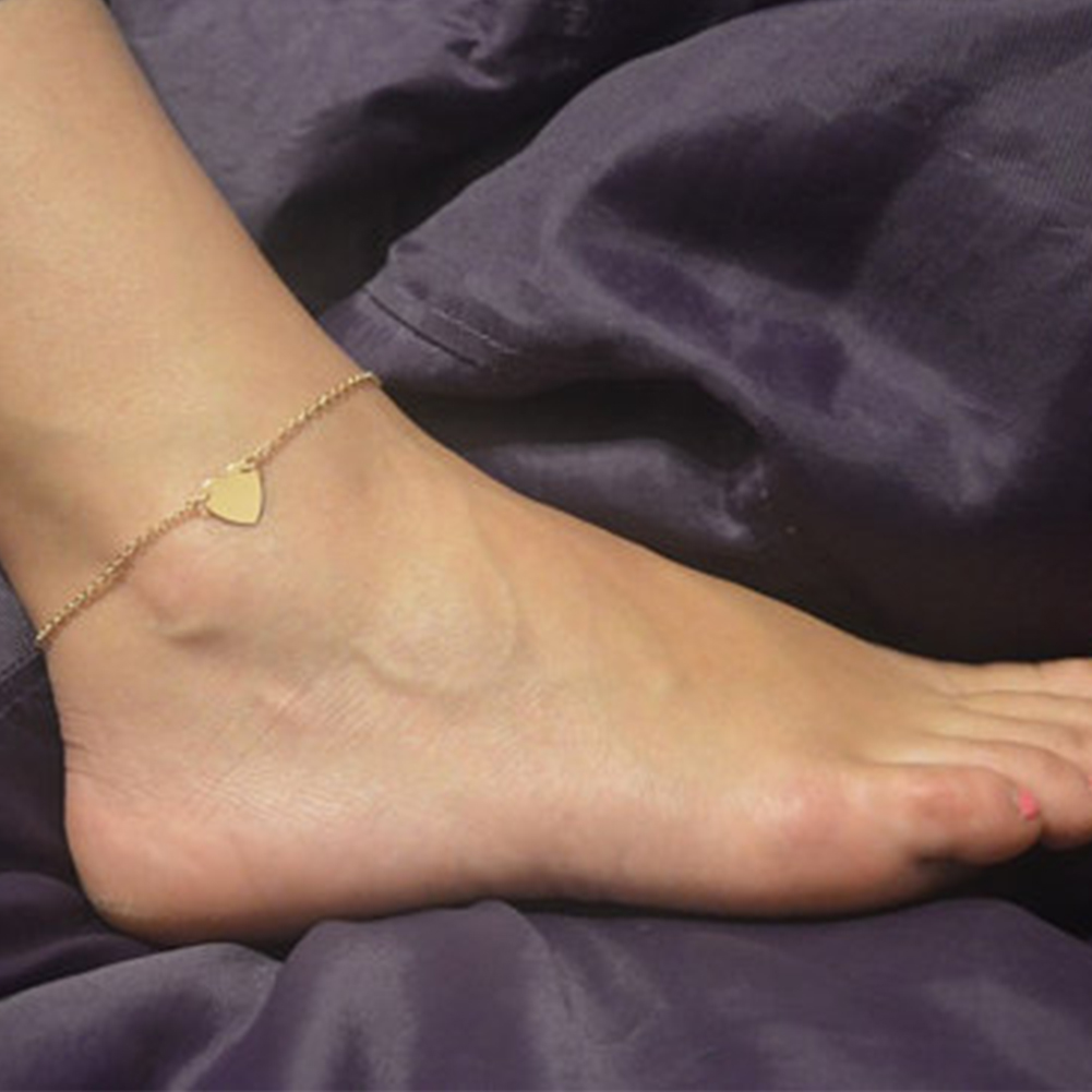 bracelet ankle ankles sexy anklet big sma chain anklets gold link for yellow chunky
