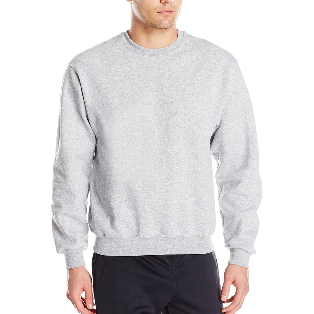 Fleece Solid Sweatshirt  1