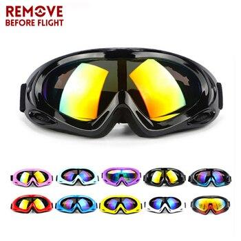 940e70f09 Gafas de moto Googles para ciclismo protección UV gafas de esquí a prueba  de polvo para gafas al aire libre motos gafas de motocross
