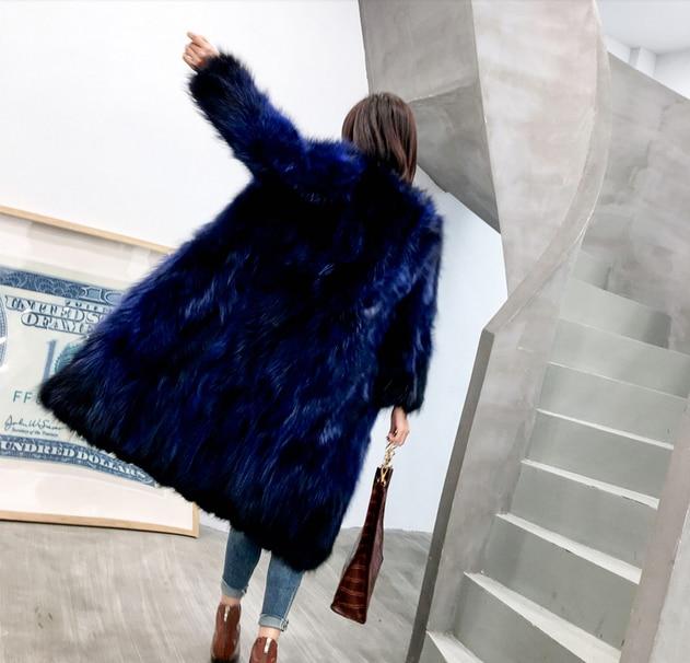 Réel Veste Raton 2018 Manteau Gratuite Pardessus Naturel Fourrure Livraison Gilet New 606 noir Femmes Véritable Laveur vert Bleu Hiver Chaud De Outwear Marine pq7w4q