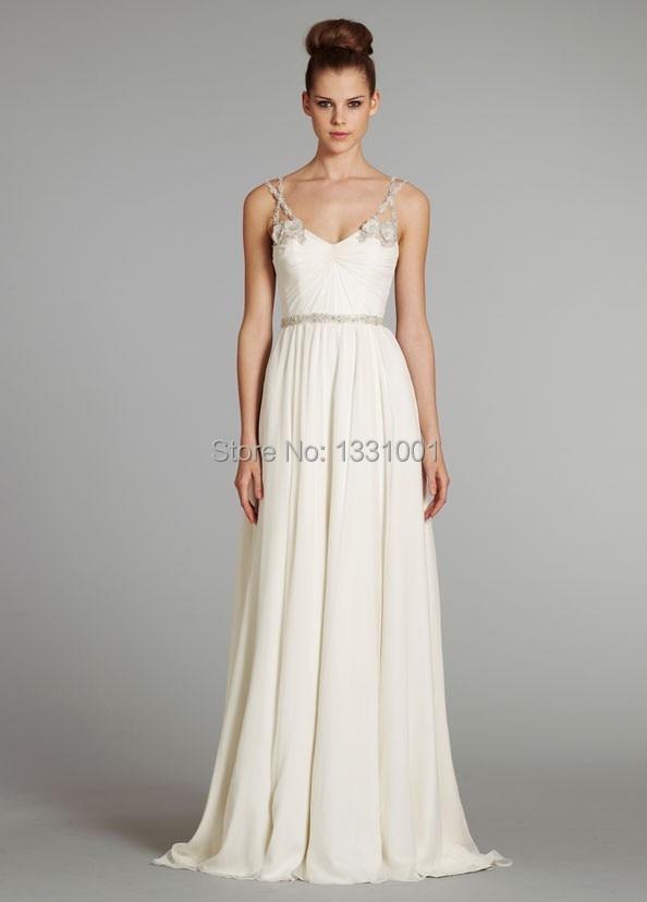 Vestido de casamento simples 2016