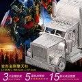 ОПТИМУС ПРАЙМ 3D Металл монтаж модель Большой грузовик головоломки 3 Листов Изысканный рабочего украшения Подарки для детей