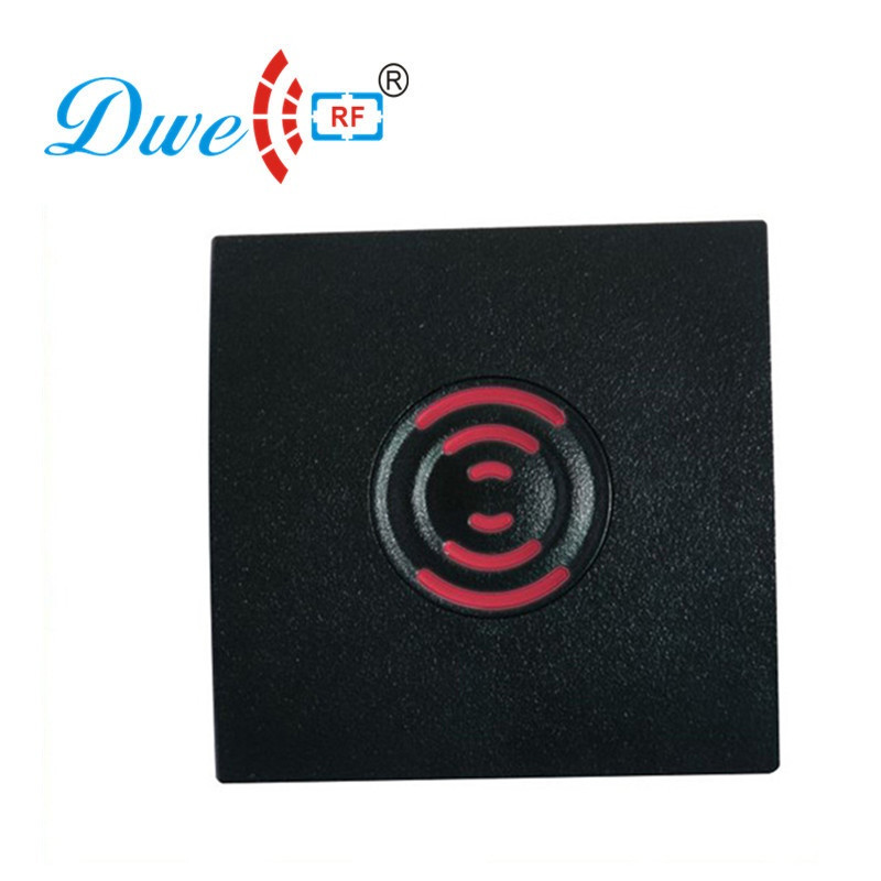 DWE CC RF RFID smart card reader rfid waterproof IP65 125khz emid wiegand 26 for access control system 002E dwe cc rf 125khz wiegand ip65 keypad passport reader for access control