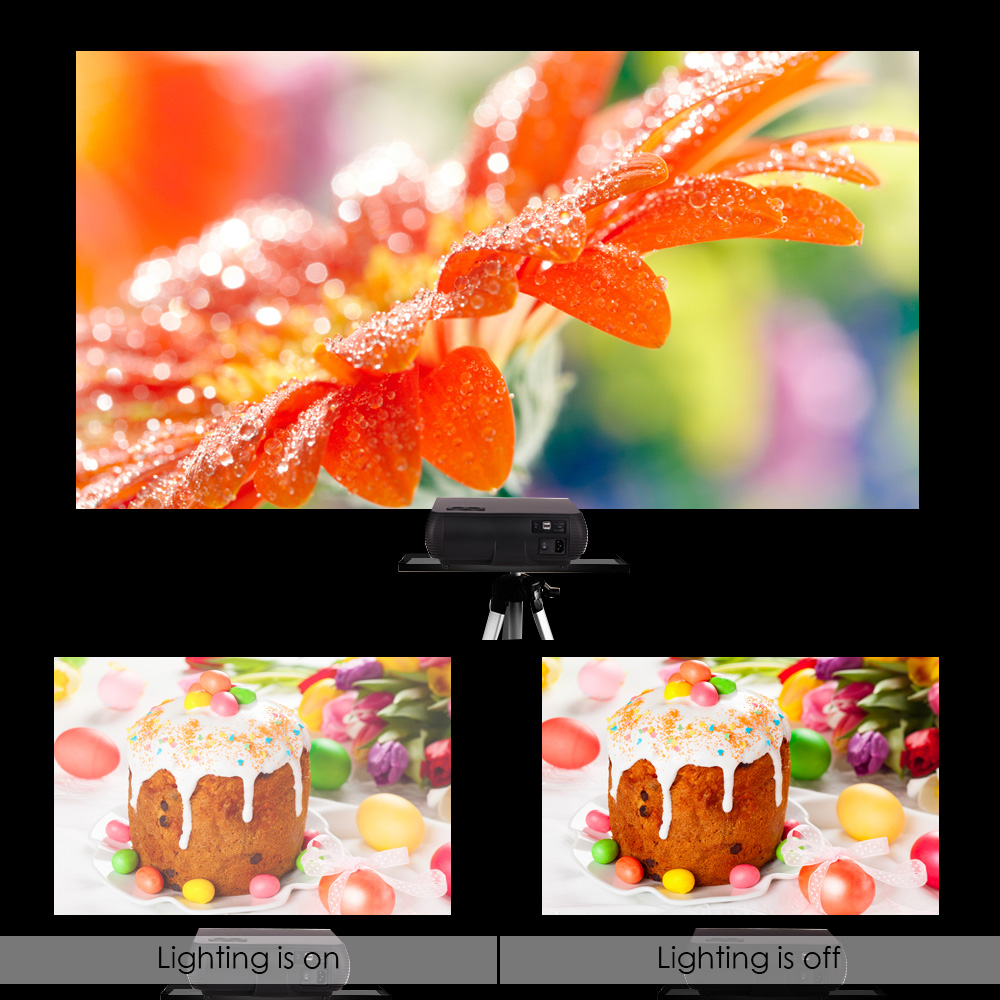 Vivicine M2 HD Home Projector (1213)