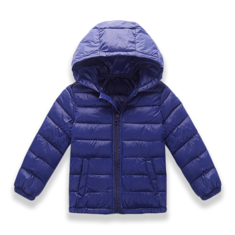 8 colors Winter Jacket Kids for Girl Warm hooded Down