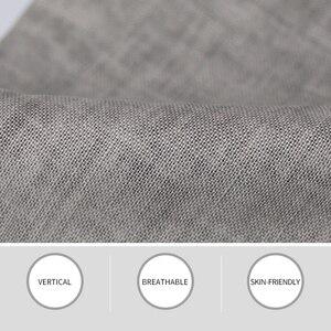 Image 4 - Markless cienki len męskie spodnie męskie komercyjne luźne dorywczo spodnie biznesowe odzież męska proste płynne spodnie męskie