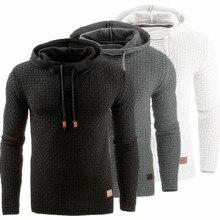 Мужской свитер осень зима теплый вязаный мужской свитер Повседневный пуловер с капюшоном мужской хлопковый свитер для мужчин размера плюс 5XL