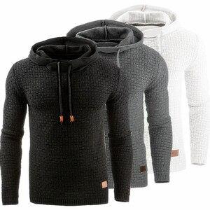 Sweater Men Autumn Winter Warm Knitted M